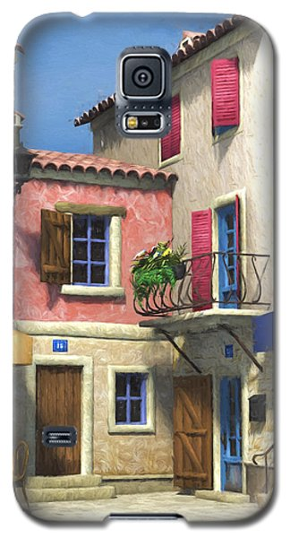 French Village Scene - Provence Galaxy S5 Case
