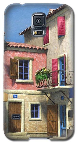 French Village Scene - Provence Galaxy S5 Case