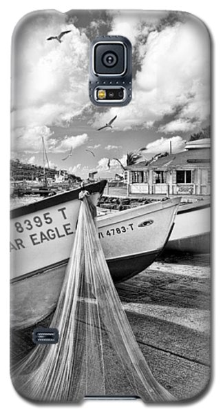 Frenchtown Fishing Boats 1 Galaxy S5 Case