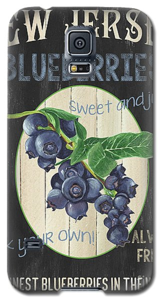 Galaxy S5 Case featuring the painting Fresh Berries 1 by Debbie DeWitt