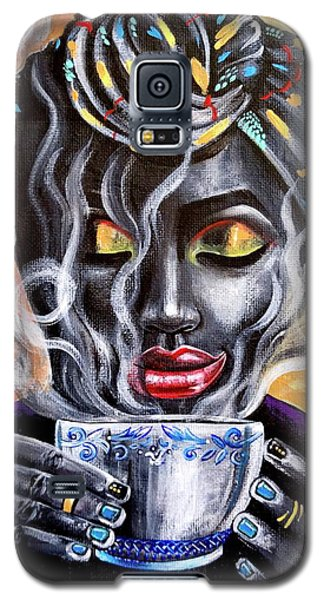 Galaxy S5 Case - Fresh Brewed by Artist RiA