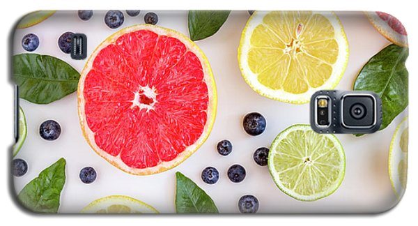 Fresh Citrus Fruits Galaxy S5 Case