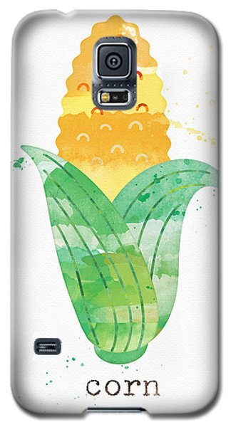 Truck Galaxy S5 Case - Fresh Corn by Linda Woods