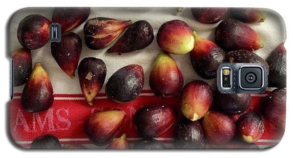Galaxy S5 Case featuring the photograph Fresh Figs by Kim Nelson