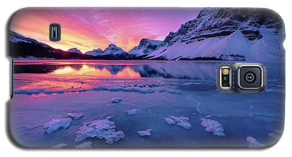 Fresh Ice On Bow Lake Galaxy S5 Case