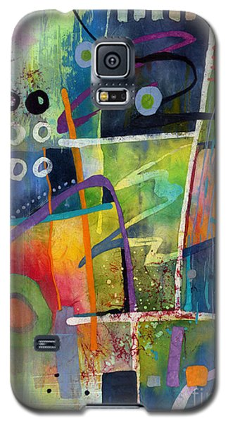 Galaxy S5 Case featuring the painting Fresh Jazz by Hailey E Herrera
