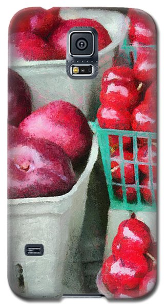 Fresh Market Fruit Galaxy S5 Case