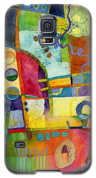 Galaxy S5 Case featuring the painting Fresh Paint by Hailey E Herrera