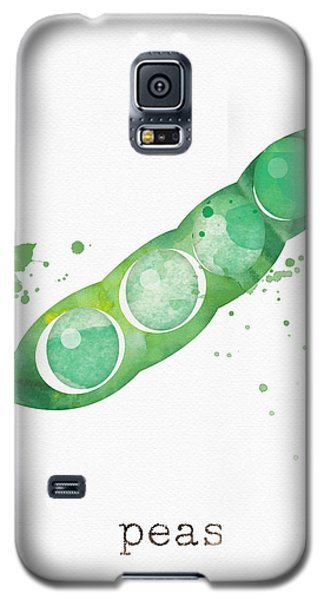Truck Galaxy S5 Case - Fresh Peas by Linda Woods
