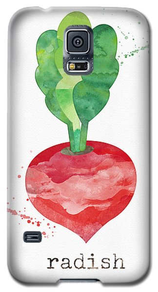 Truck Galaxy S5 Case - Fresh Radish by Linda Woods