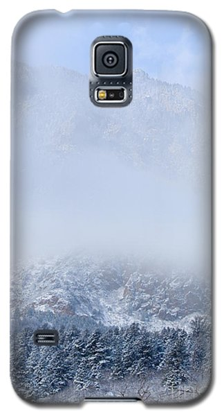 Fresh Snow In Cheyenne Mountain State Park Galaxy S5 Case