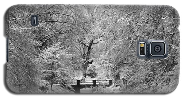 Fresh Snowfall At Mount Auburn Cemetery Galaxy S5 Case