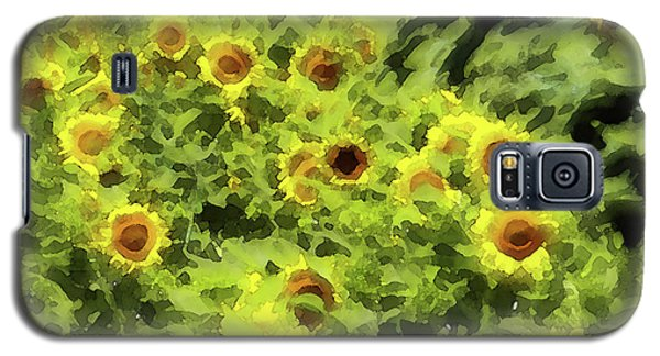 Fresh Sunflowers Galaxy S5 Case by Methune Hively