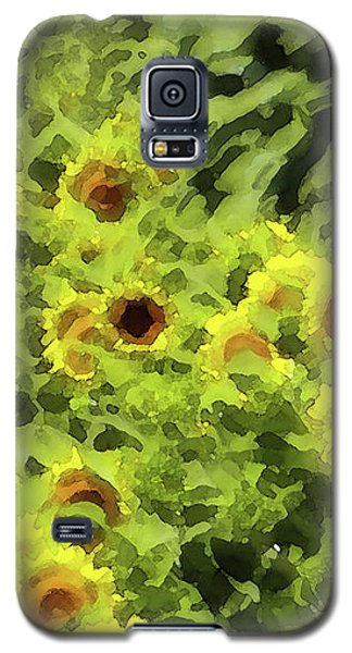 Fresh Sunflowers Galaxy S5 Case
