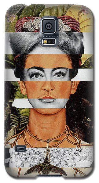 Frida Kahlo And Joan Crawford Galaxy S5 Case by Luigi Tarini