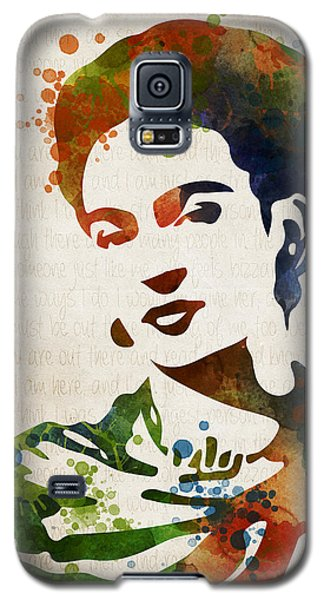Frida Kahlo Galaxy S5 Case by Mihaela Pater