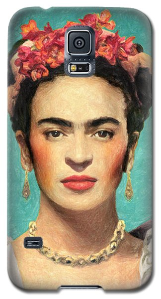 Frida Kahlo Galaxy S5 Case