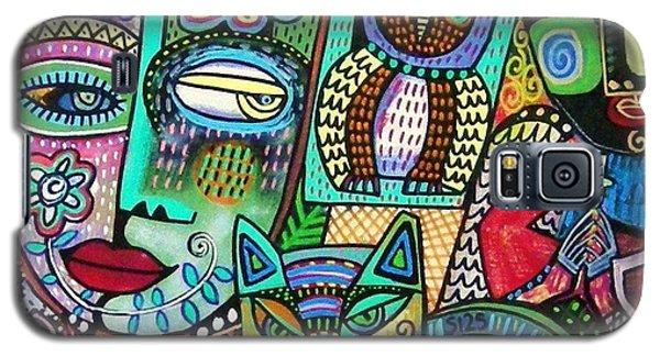 -frida's Garden Owl And Cat Galaxy S5 Case
