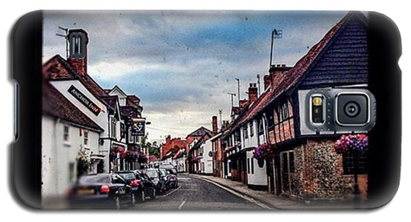 Classic Car Drawings Galaxy S5 Case - #fridaystreet #henleyonthames by Sam Stratton