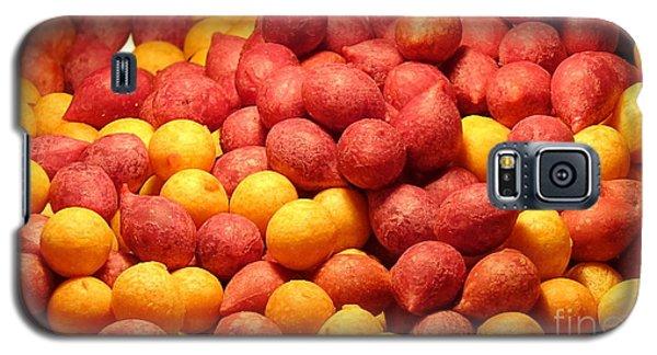 Galaxy S5 Case featuring the photograph Fried Sweet Potato Balls by Yali Shi