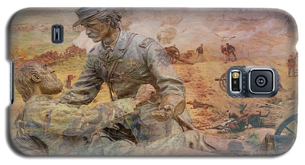 Friend To Friend Monument Gettysburg Battlefield Galaxy S5 Case by Randy Steele