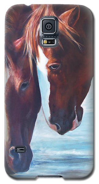 Friends For Life Galaxy S5 Case by Karen Kennedy Chatham