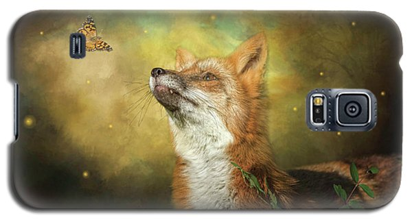 Friends On A Firefly Evening Galaxy S5 Case
