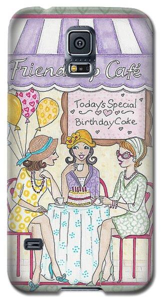 Friendship Cafe Galaxy S5 Case