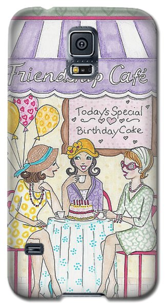 Friendship Cafe Galaxy S5 Case