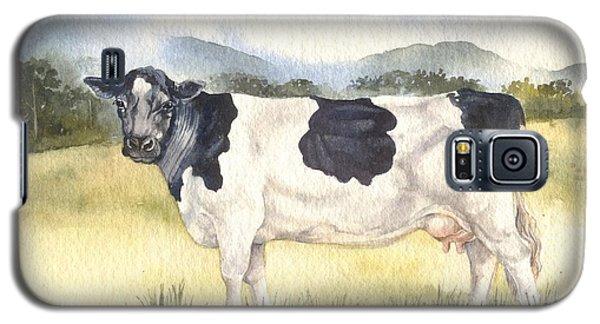 Friesian Cow Galaxy S5 Case