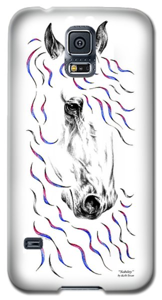 Friesian Horse Nobility Galaxy S5 Case
