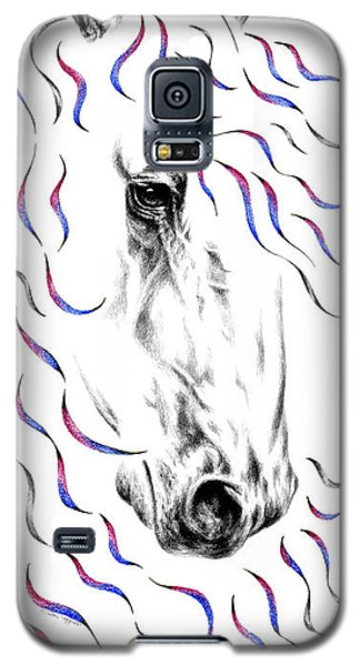 Friesian Horse Nobility Galaxy S5 Case
