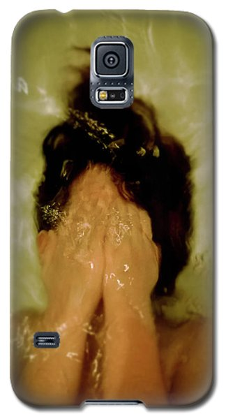 Frightened Young Girl Galaxy S5 Case by Tetyana Kokhanets
