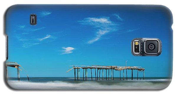 Frisco Fishing Pier In North Carolina Panorama Galaxy S5 Case