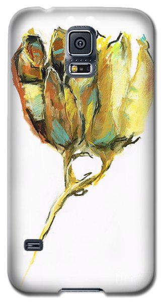 Galaxy S5 Case featuring the painting Fritillaria by Frances Marino