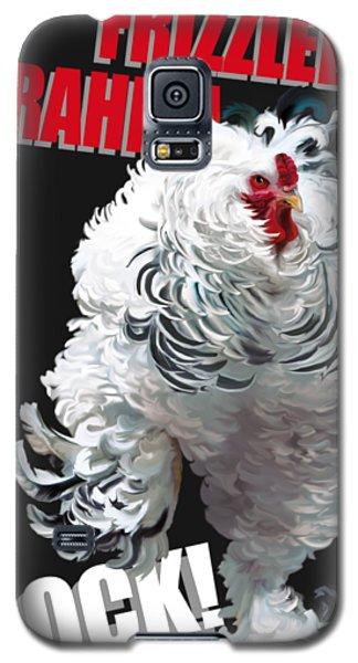 Frizzled Brahma T-shirt Print Galaxy S5 Case