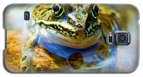 Frog In Pond Galaxy S5 Case
