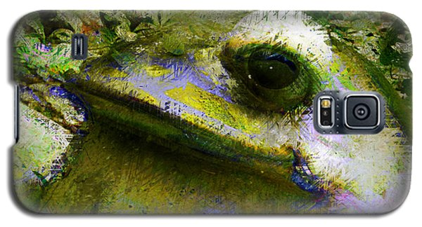Frog In The Pond Galaxy S5 Case
