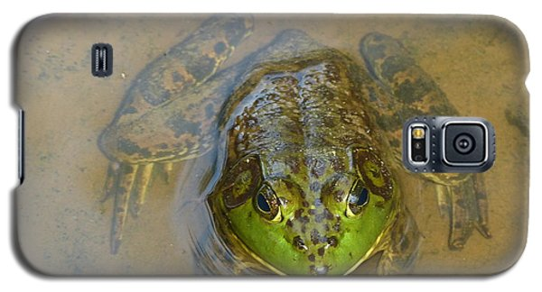 Galaxy S5 Case featuring the photograph Frog Of Lake Redman by Donald C Morgan