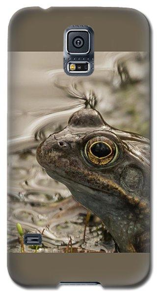 Frog Portrait Galaxy S5 Case