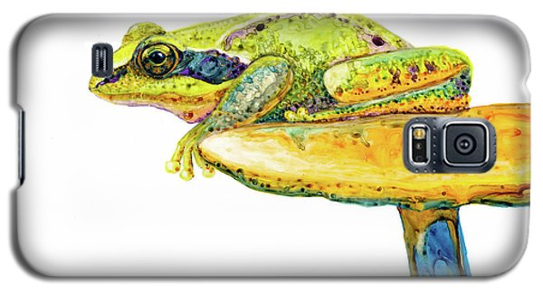 Frog Sitting On A Toad-stool Galaxy S5 Case