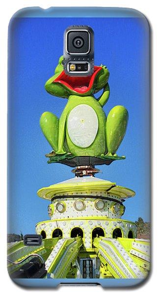 Froggy Galaxy S5 Case by Don Pedro De Gracia