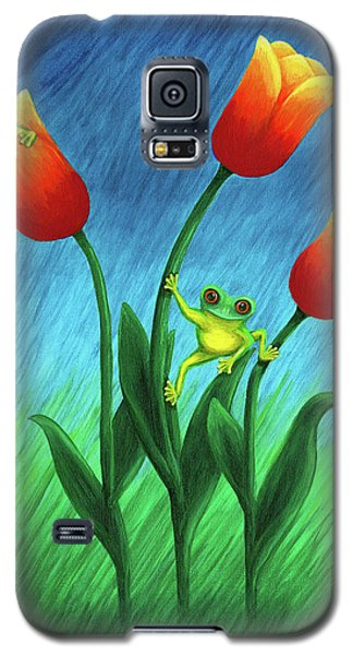 Froggy Tulips Galaxy S5 Case