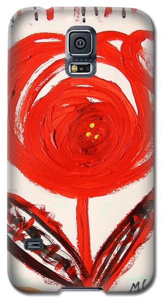Galaxy S5 Case featuring the painting From A Variety Garden  by Mary Carol Williams