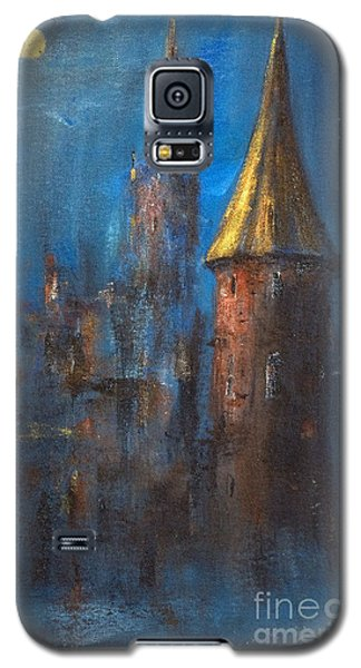 Galaxy S5 Case featuring the painting From Medieval Times by Arturas Slapsys