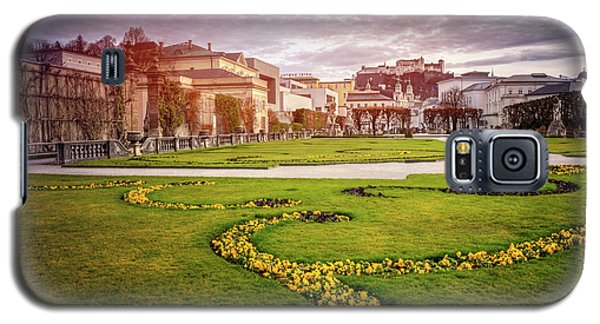 From Mirabell Gardens To Salzburg Castle  Galaxy S5 Case
