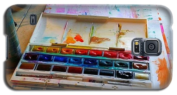 Colorful Galaxy S5 Case - From #palette  To #paper ..adding Some by Robin Mead