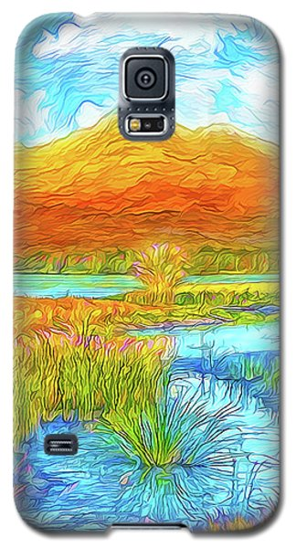 From Sky To Mountain To Stream - Boulder County Colorado Galaxy S5 Case by Joel Bruce Wallach