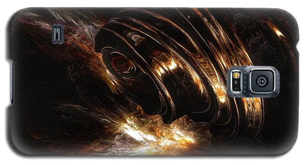Galaxy S5 Case featuring the digital art From The Beyond by Isabella F Abbie Shores FRSA