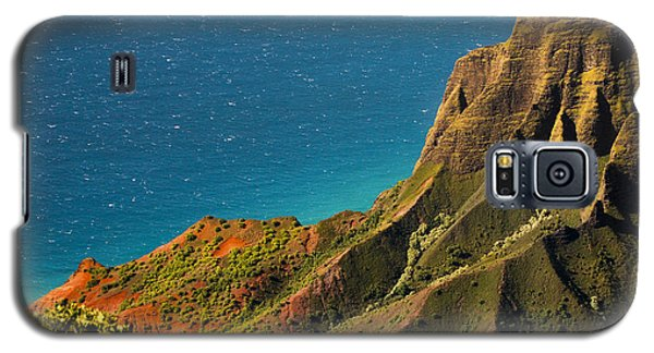 Galaxy S5 Case featuring the photograph From The Hills Of Kauai by Debbie Karnes